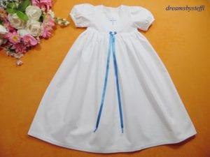 traditionelles Taufkleid für Mädchen